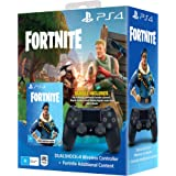 PlayStation 4 - DS4 Black + Fortnite VCH [Bundle]