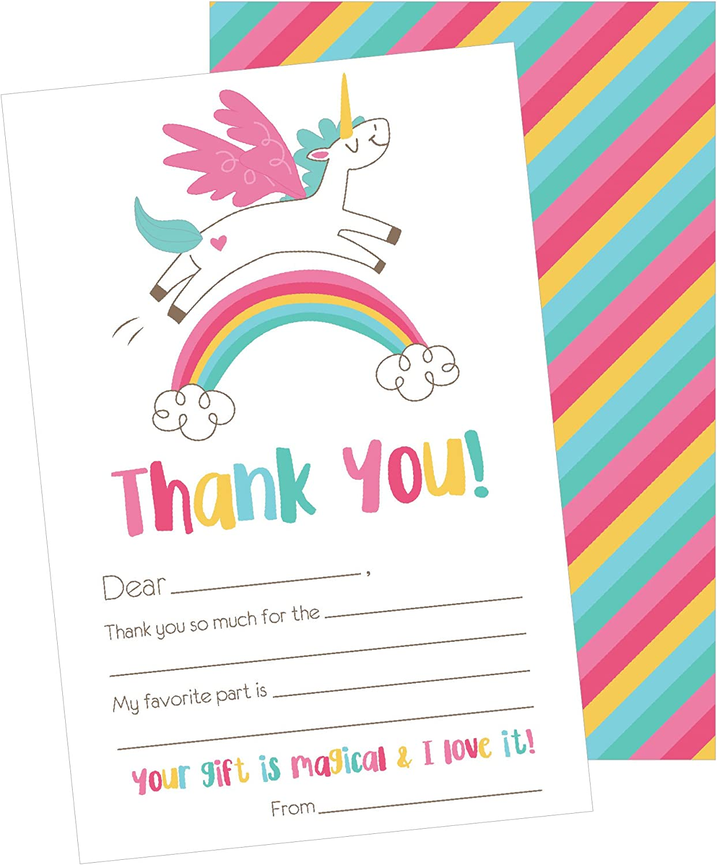 pun thank you card sweet thank you card unicorn thank you card punny card, animal thank you card unicorn card Funny thank you card