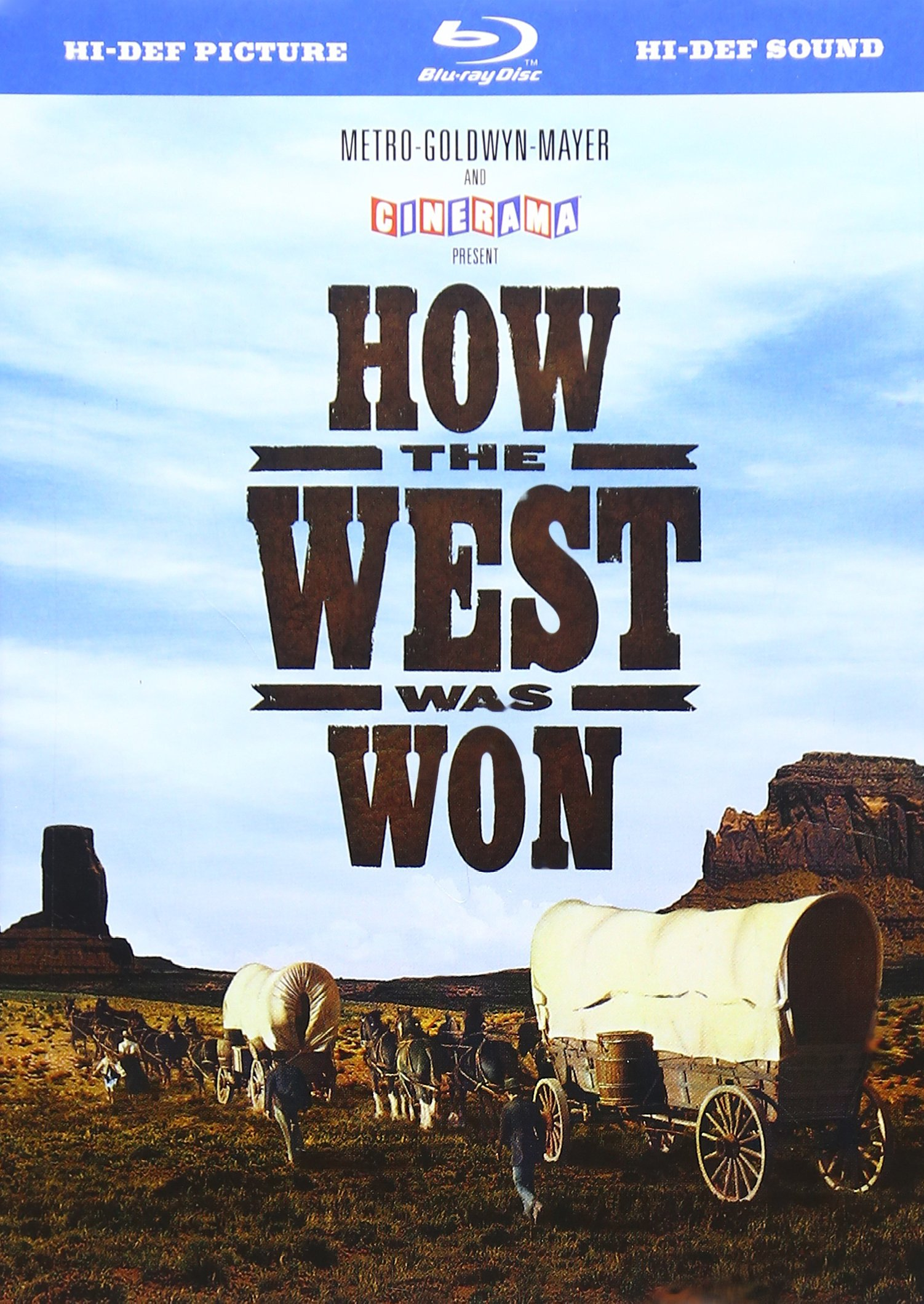 Blu-ray : How the West Was Won (Special Edition, Remastered, Restored, Widescreen, Dolby)