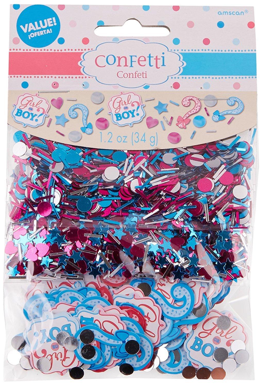 Confetti 361573 Amscan Girl or Boy