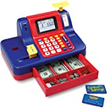 Learning Resources Pretend & Play Teaching Cash Register, Talking Register, Counting Activities, Money Management, 73 Piece S