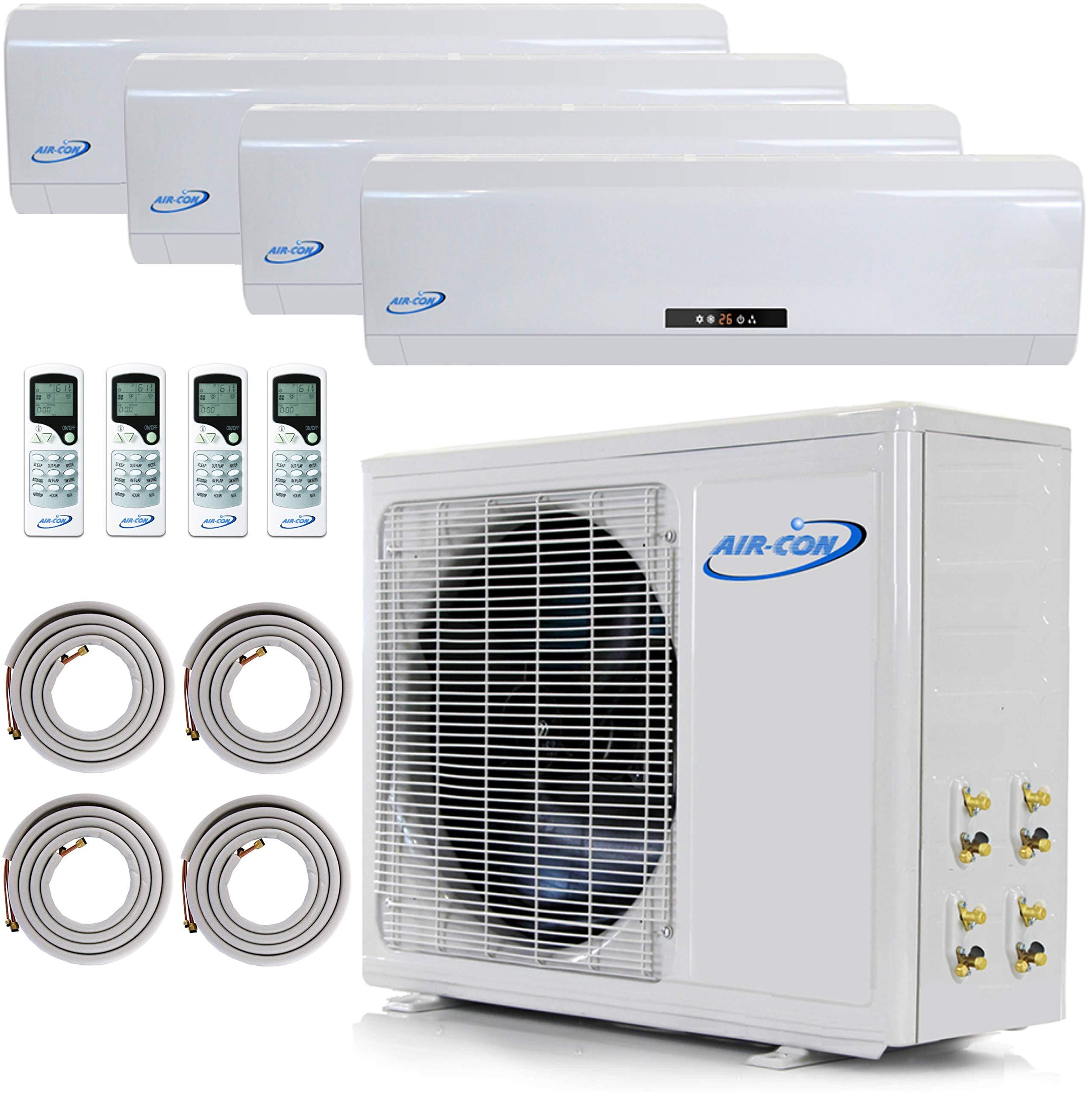 Multi Zone Mini Split Ductless Air Conditioner Quad Zone