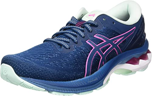 Blue Asics Gel Kayano 27 Womens Running Shoes
