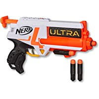 NERF - Ultra 4 Blaster - 4 Nerf Ultra Darts, Single-Shot Blasting, 2-Dart Storage - Ultra Four - Compatible Only with…