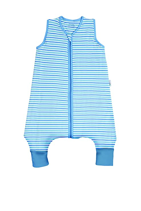 Saco de repetición Saco de dormir con patas para el verano en 0.5 tog – Rayas