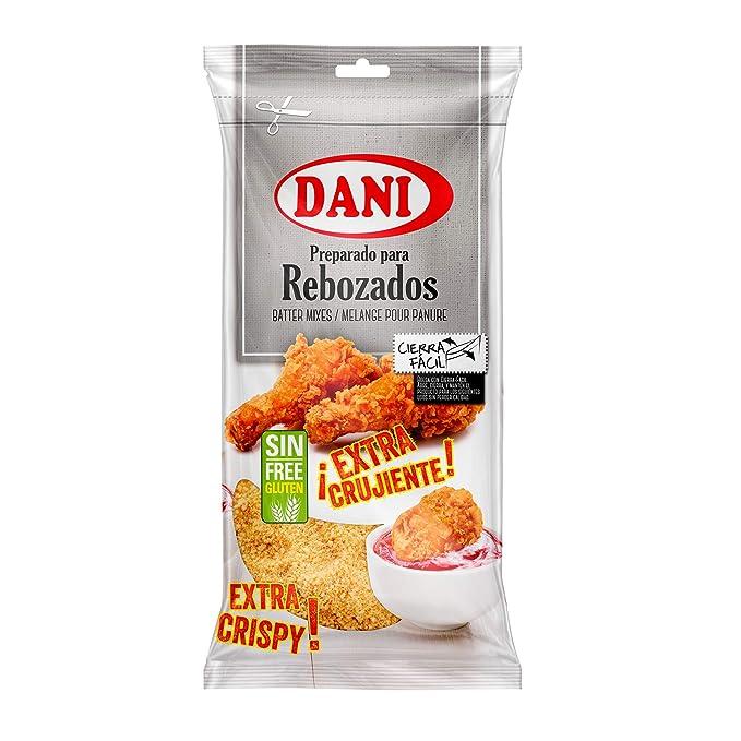 Preparado para Rebozados Dani - Sin Gluten: Amazon.es ...
