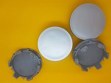 4 x Ø 70 mm/67 mm Aleación Rueda Borde Centro Centro Juego de tapas centros para tapacubos para Nissan: Amazon.es: Coche y moto