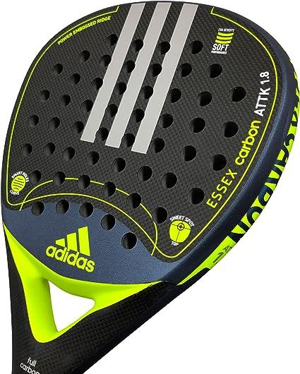 pegamento lado frágil  Schläger für Adidas Essex Carbon Attack 1.8 Lime rugosa: Amazon.de: Sport &  Freizeit