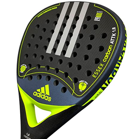 adidas Pala Pádel Essex Carbon Attack 1.8 Lime Rugosa: Amazon.es ...