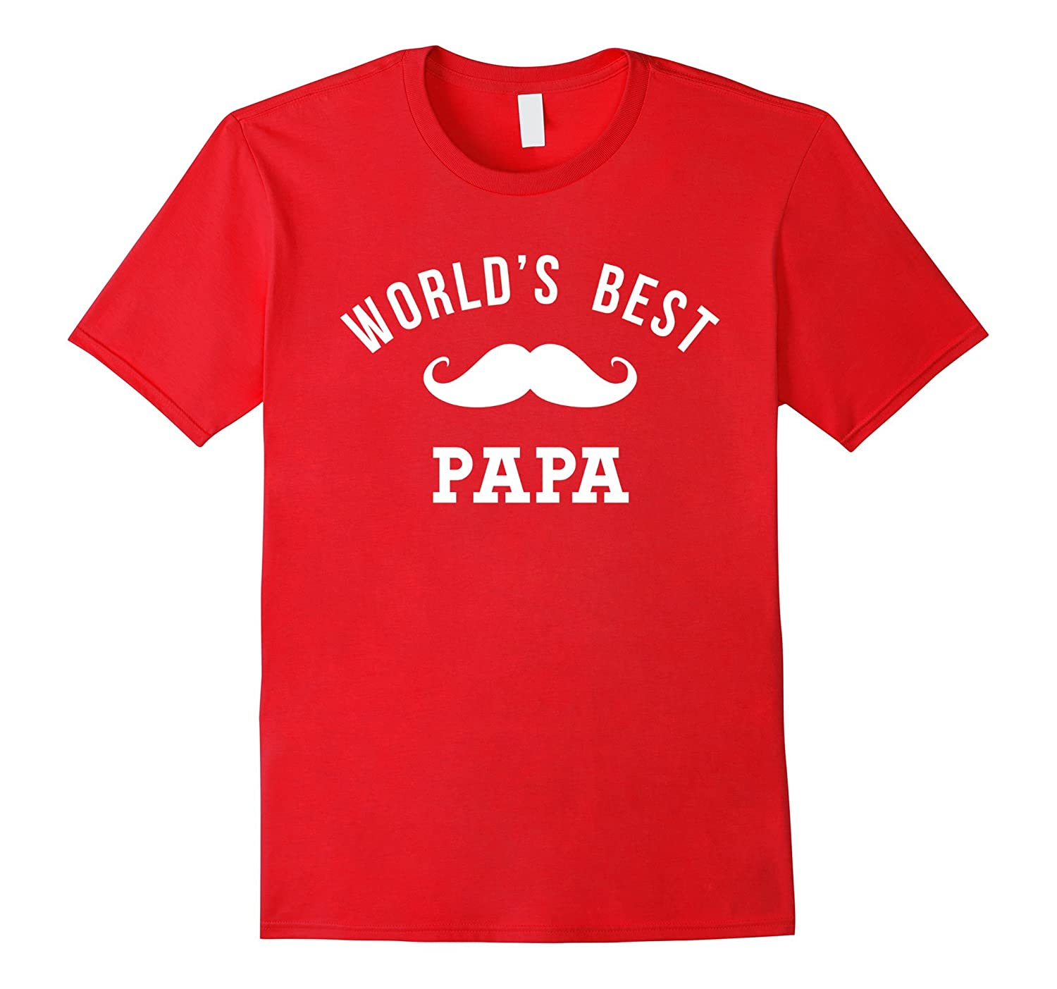World's Best Papa Shirt Funny Cute Fathers Day Gift Outfit