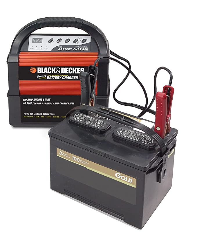Amazon Com Black Decker Vec1093dbd Smart Battery 40 20 10 4 Amp