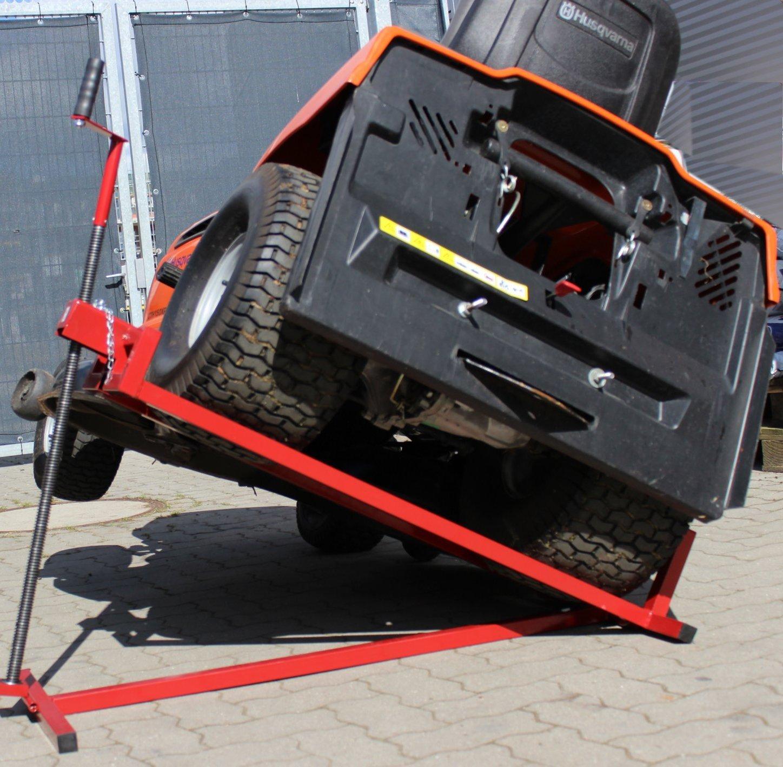 tráctor Paleta 400 kg Segadora Cortacésped hebev orrichtung Paleta ...