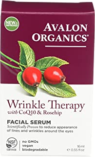 product image for Wrinkle Therapy Facial Serum with CoQ10 Rosehip (0.55 Fluid Ounces)