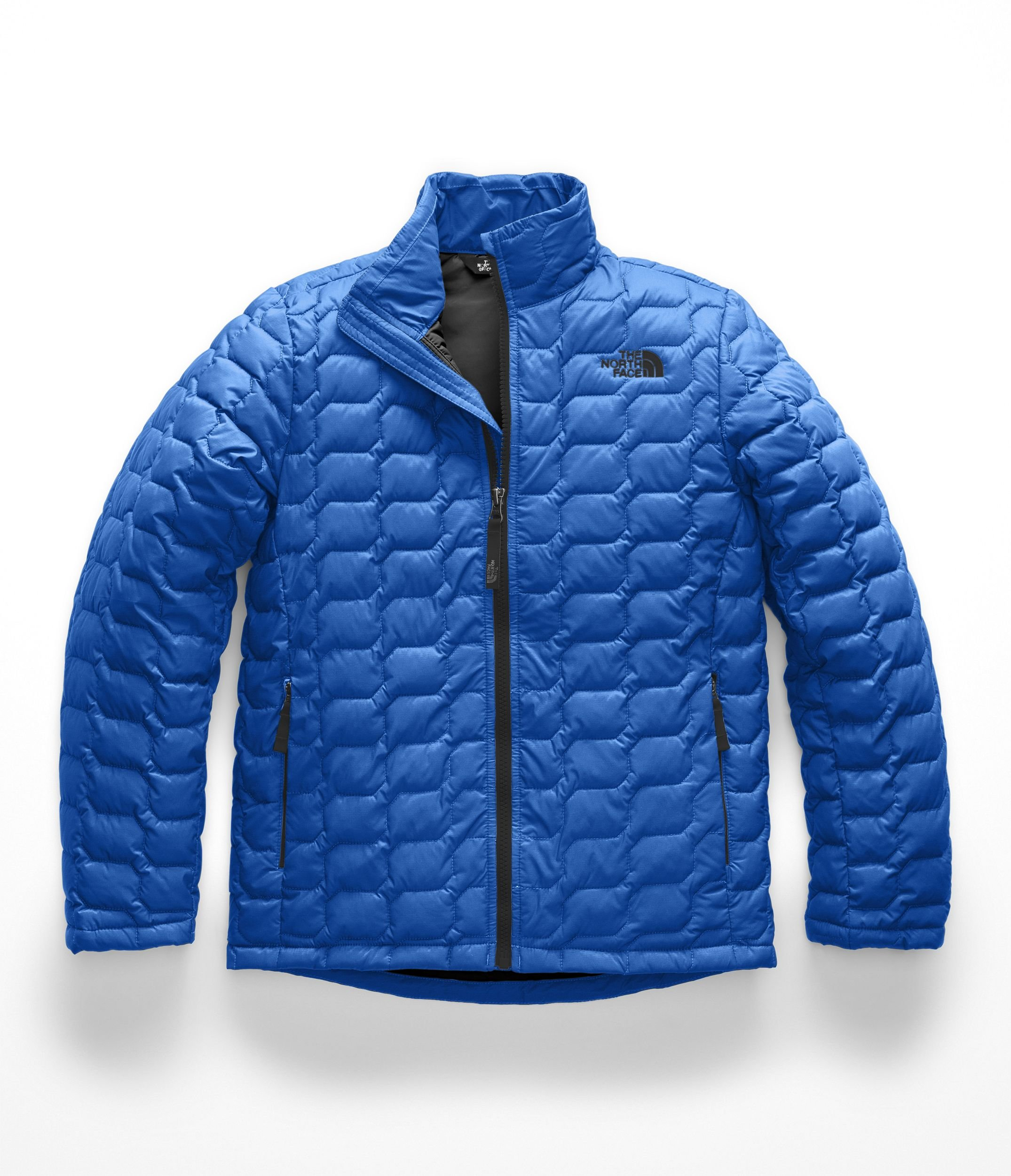 The North Face NF0A3CPZ Boys' Thermoball Full Zip, Turkish Sea - L