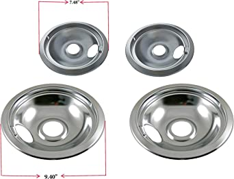 ClimaTek 6 Chrome Drip Pan Ring fits GE Kenmore WB31X5013 AP2028085 340525