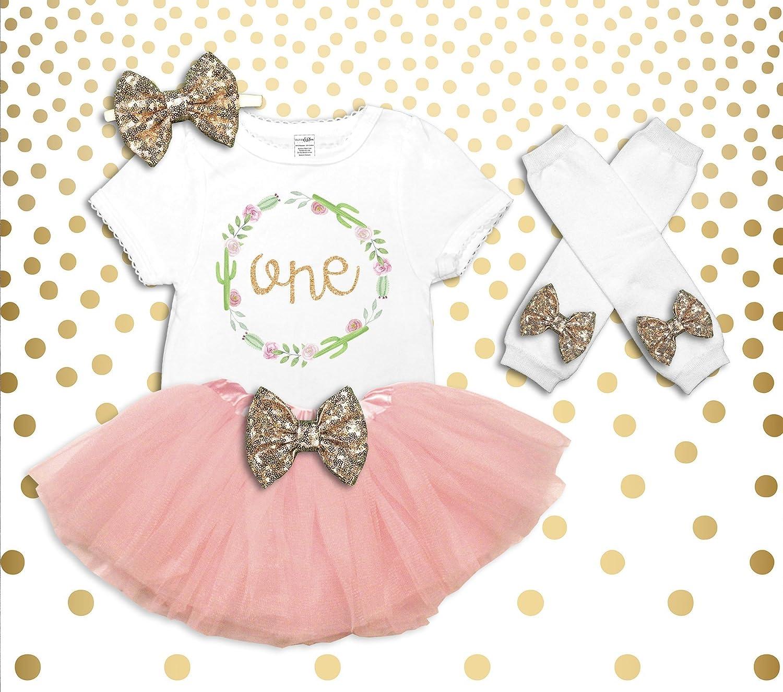 Amazon Baby Girl Boho 1st Birthday Outfit Its My Cake Smash Shirt Rose Gold Tutu Set Handmade