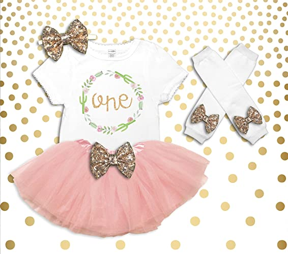 Amazon Baby Girl Boho 1st Birthday Outfit Its My