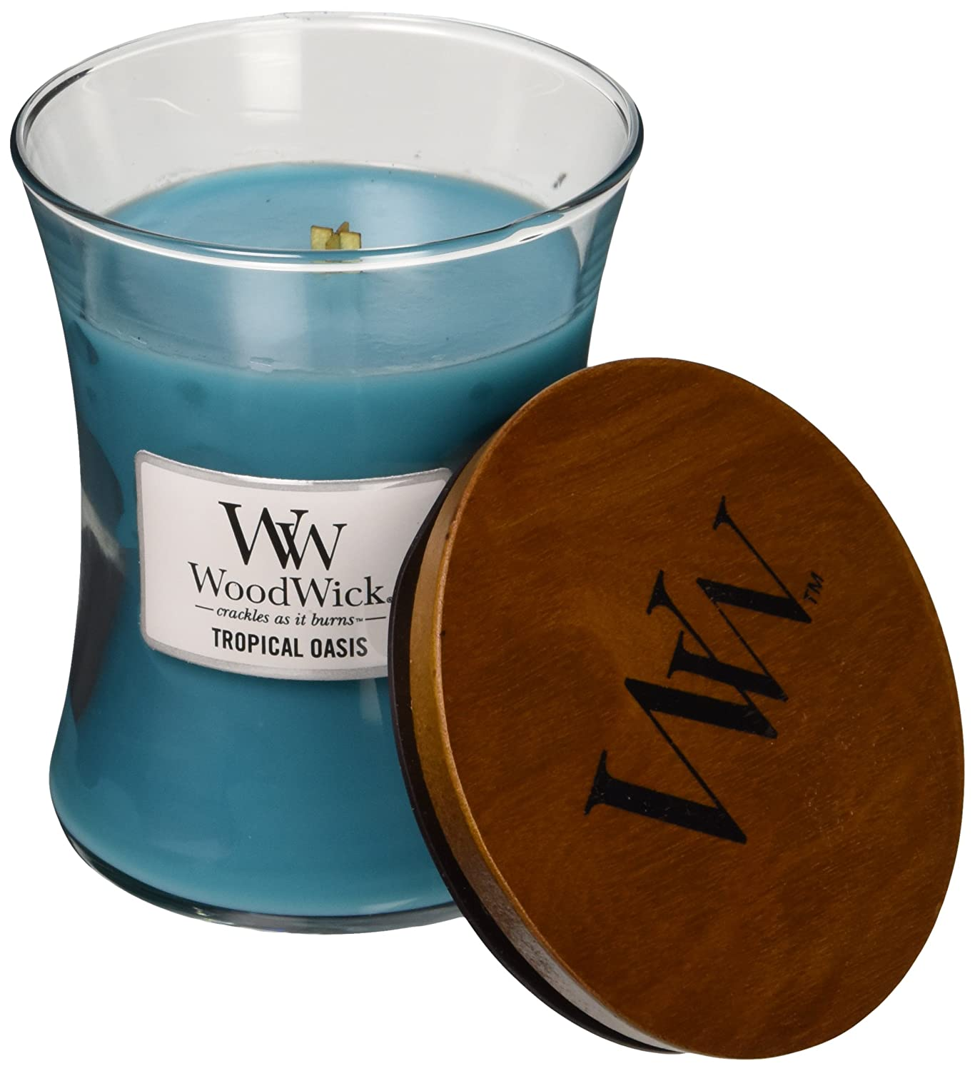 WoodWick Tropical Oasis Candle, Medium VIRGINIA GIFT BRANDS 92496
