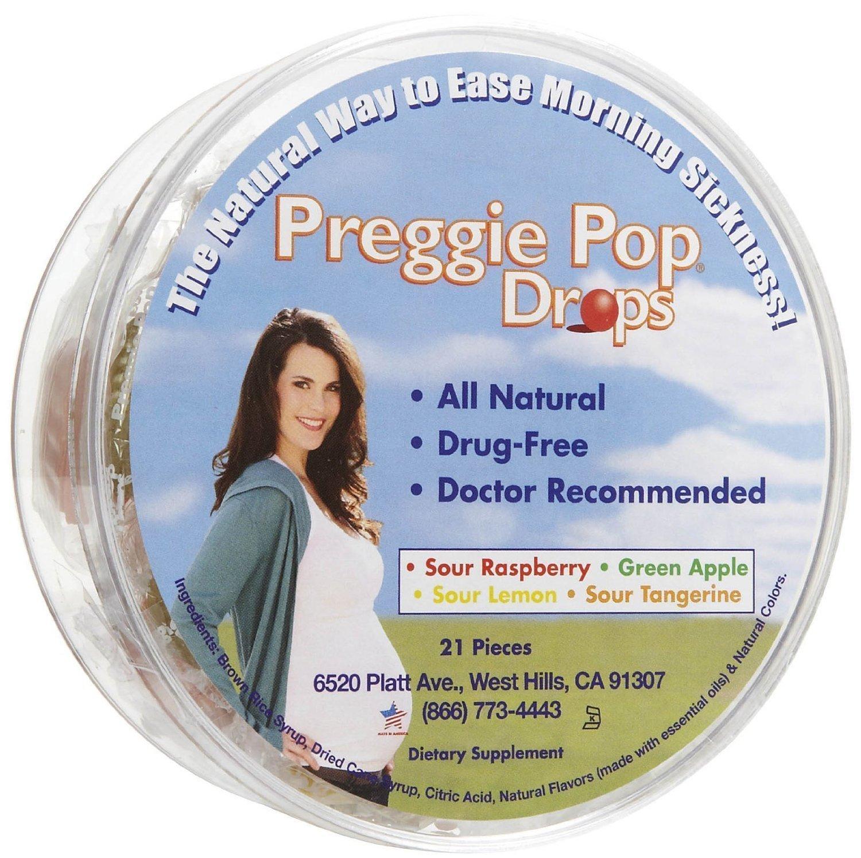 Three Lollies Preggie Pop Drops Contain 21 Ct