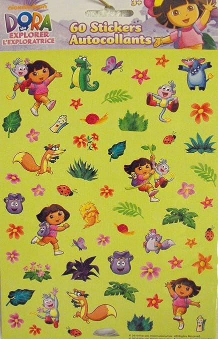 Nickelodeon Dora The Explorer 60 Stickers