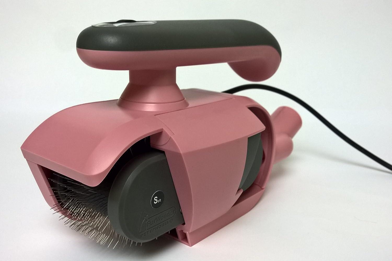 Elektrische Hundebürste FurWonder® Basic Pink zum Entfilzen Kämmen Bürsten Massieren