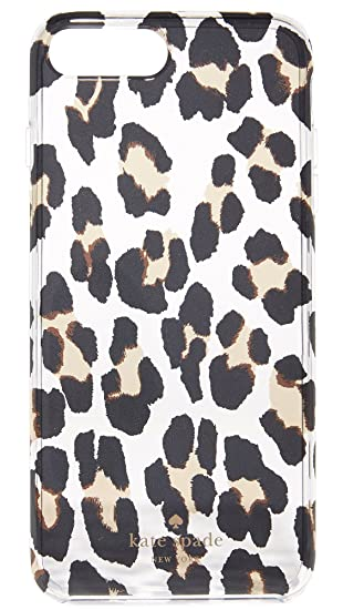 factory price a83ed fbcad Amazon.com: Kate Spade New York Leopard Clear iPhone 7 Plus Case ...