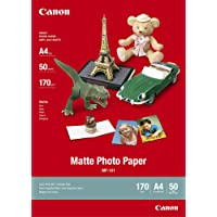 Canon MP-101, A4 Fotopapier matt (170 g/qm), A4, 50 Blatt