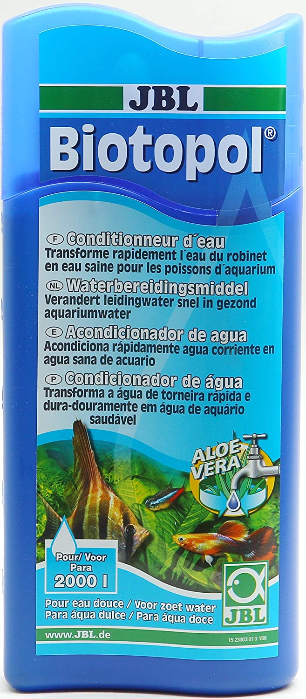 JBL Biotopol - Tratamiento de Agua para Acuario 2000 L 500 Ml.