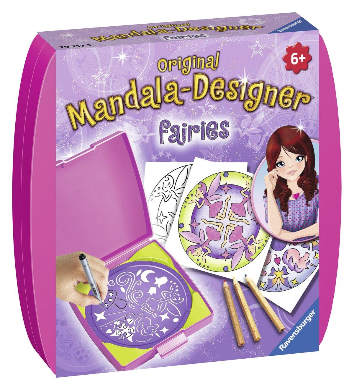 Ravensburger 29757 –  Disney Fairies –  Mandala Designer Mini Ravensburger Spieleverlag