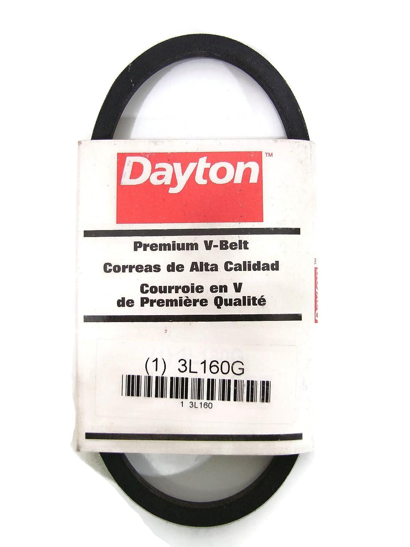 Dayton 3L540 V Belt,3l,3//8 X 54 In 3L540
