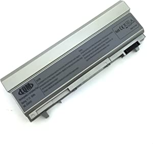 LQM 11.1V 90Wh 9 Cell New Laptop Battery for Dell Latitude E6400 E6410 E6500 E6510 Precision M2400 M4400 M4500,fits P/N: F8TTW PT434 PT437 KY266 FU274 FU571 MN632 MP303 MP307 W1193 KY477