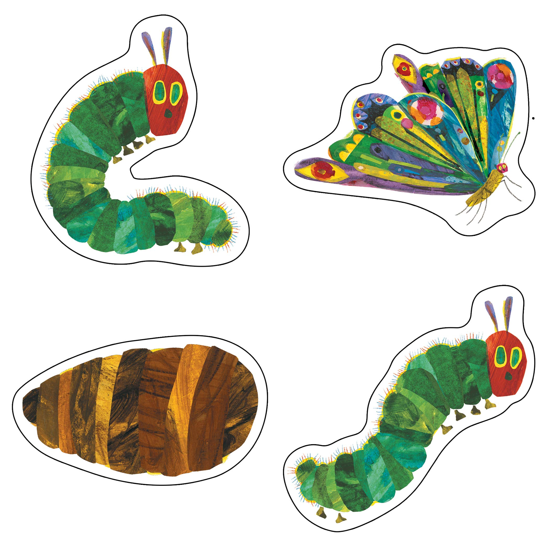 The Very Hungry Caterpillar Tm 45th Anniversary Cut Outs The World Of Eric Carle Amazon Co Uk Carson Dellosa Publishing 0044222233266 Books