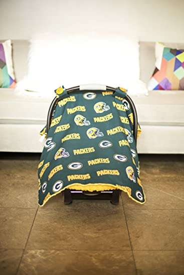 Carseat Canopy (NFL Green Bay Packers) Baby Infant Car Seat Cover & Amazon.com: Carseat Canopy (NFL Green Bay Packers) Baby Infant Car ...