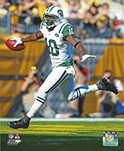 "Santonio Holmes New York Jets Action Photo (Size: 8"" x 10"")"