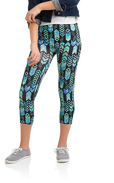 678445332b6ac1 Amazon.com: No Boundaries Seamless Capri Legging XL(15-17): Clothing