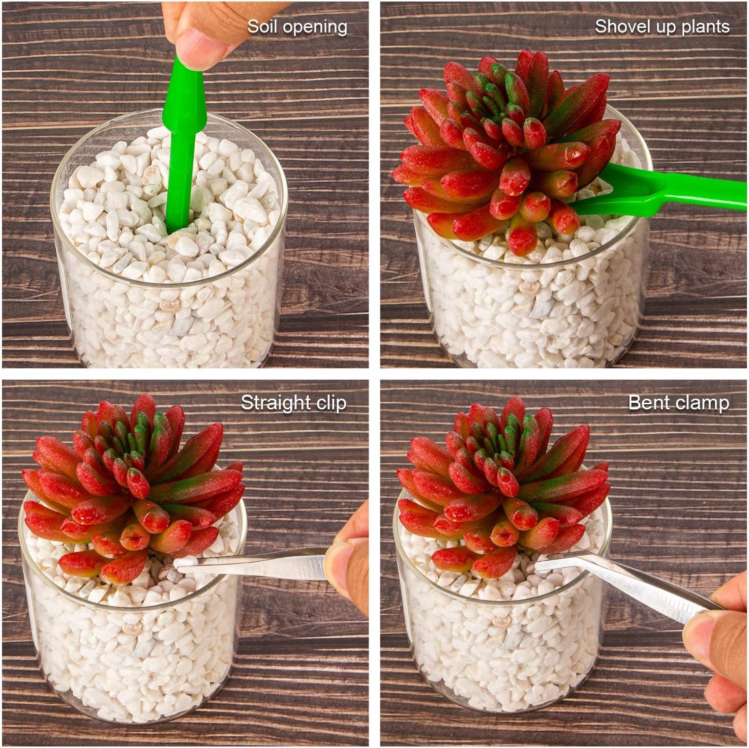 4//9//14PCS Mini Garden Flower Planting Shovel Gardening Hand Tools Succulent   L