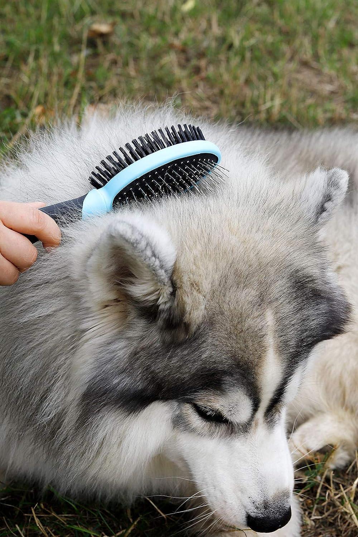 Cepillo de Pelo para Perros y Gatos Pelo de Todas Las Longitudes Perros Dibea pb10230/Cepillo//Gatos