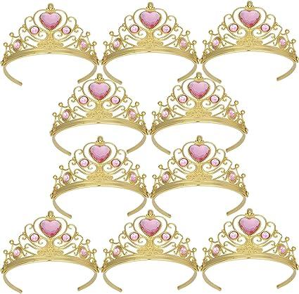 Amazon.com: Tiaras y coronas XiangGuanQianYing para niñas ...