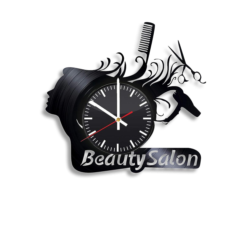 decoration interieur vintage moderne decoration vintage salon design collection s e Beauty Salon Vinyl Clock - Beauty Salon Hairdresser Wall Art Decor Handmade  Decoration Party Supplies Theme - Original Present Gift Idea Vintage Modern  ...