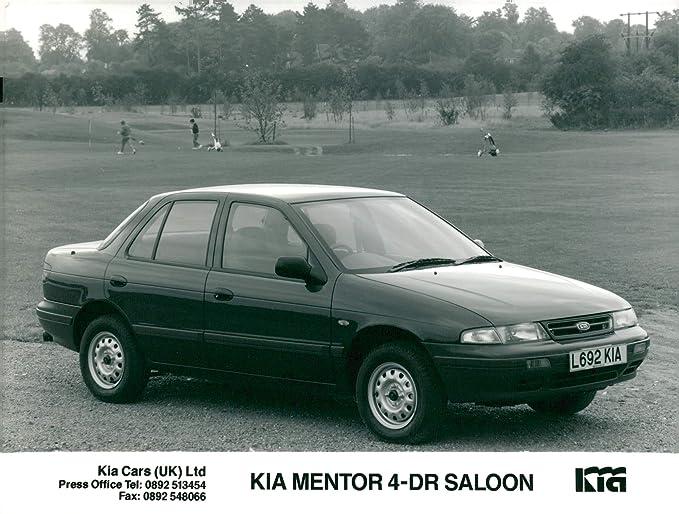 Kia Of Mentor >> Amazon Com Vintage Photo Of Kia Mentor 4 Dr Saloon