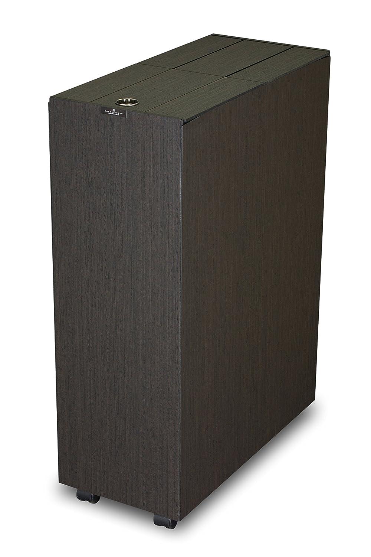 橋本達之助工芸 ダストボックス 「バスク キッチンペール 45L」 ブラック B012OO97DA 45L ブラック 45L ブラック