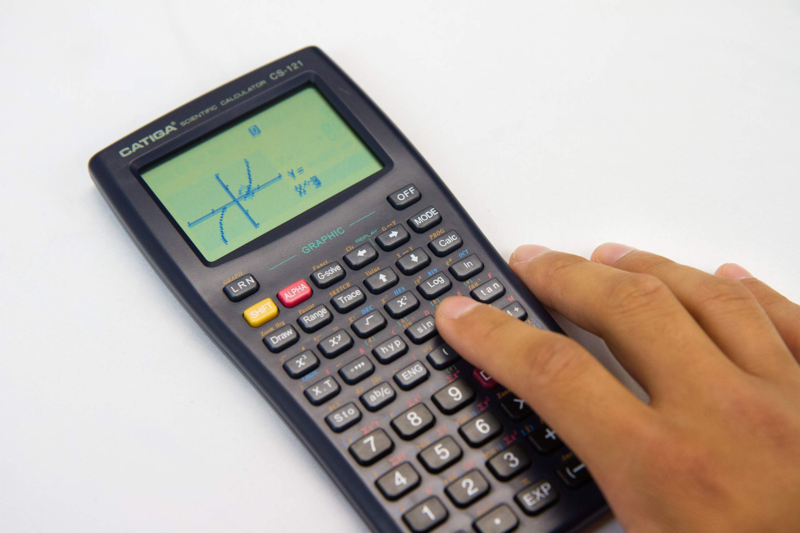 Graphing Calculator - CATIGA CS121 - Scientific and Engineering Calculator - Programmable System by CATIGA (Image #3)