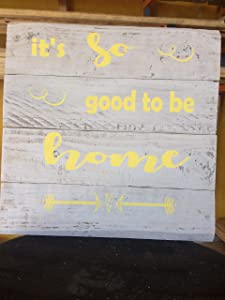 It's so Good to be Home Pallet Sign, Wall Art, Painted Sign, Home Decor, Wall Decor
