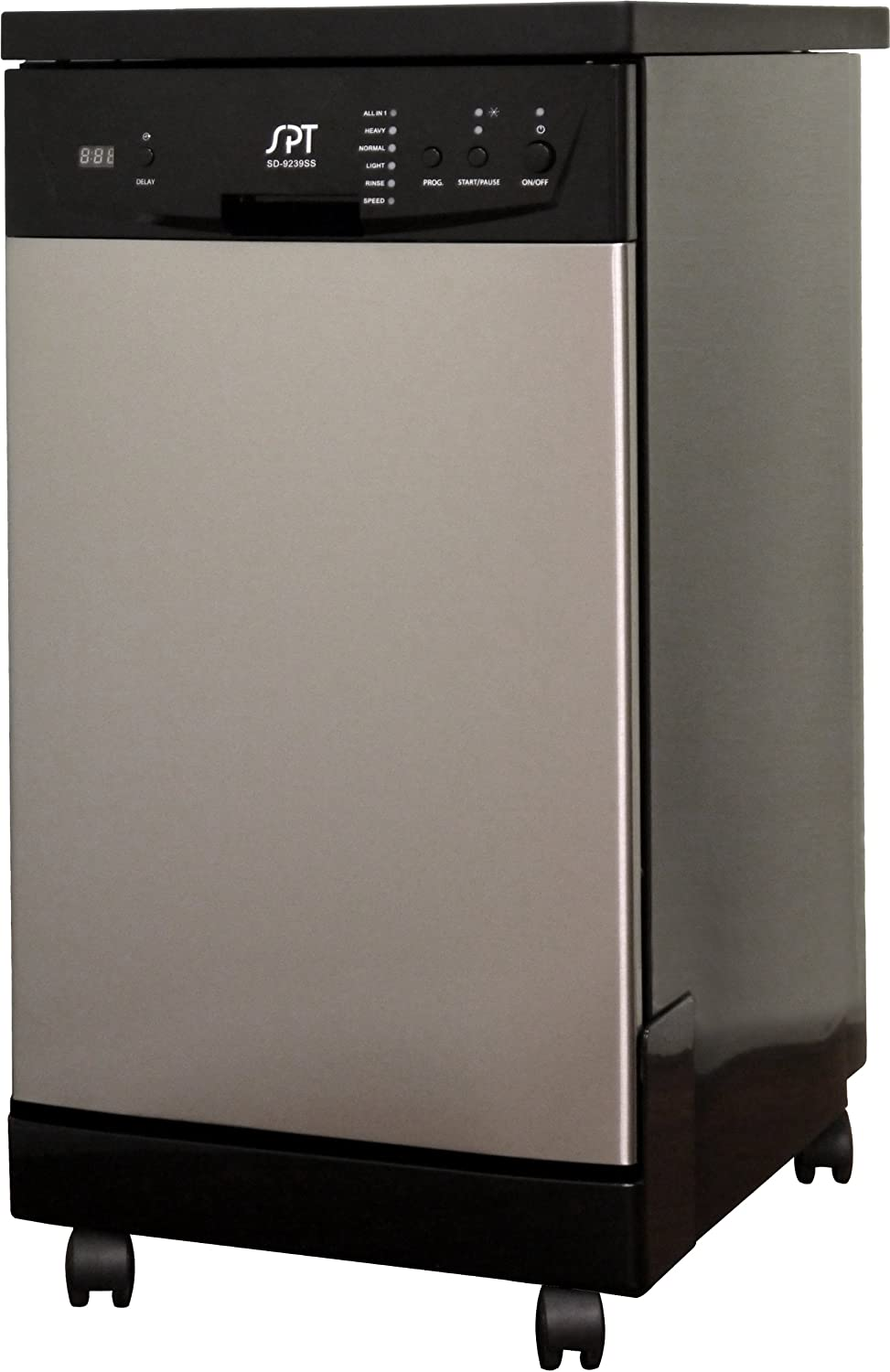SD-9241SS1: 18″ Energy Star Portable Dishwasher