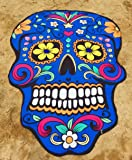 YAMUDA Halloween Wall Decoration Skull Design Tapestery Hallowmas Wall Hanging Tapestry King Size Beach Towel