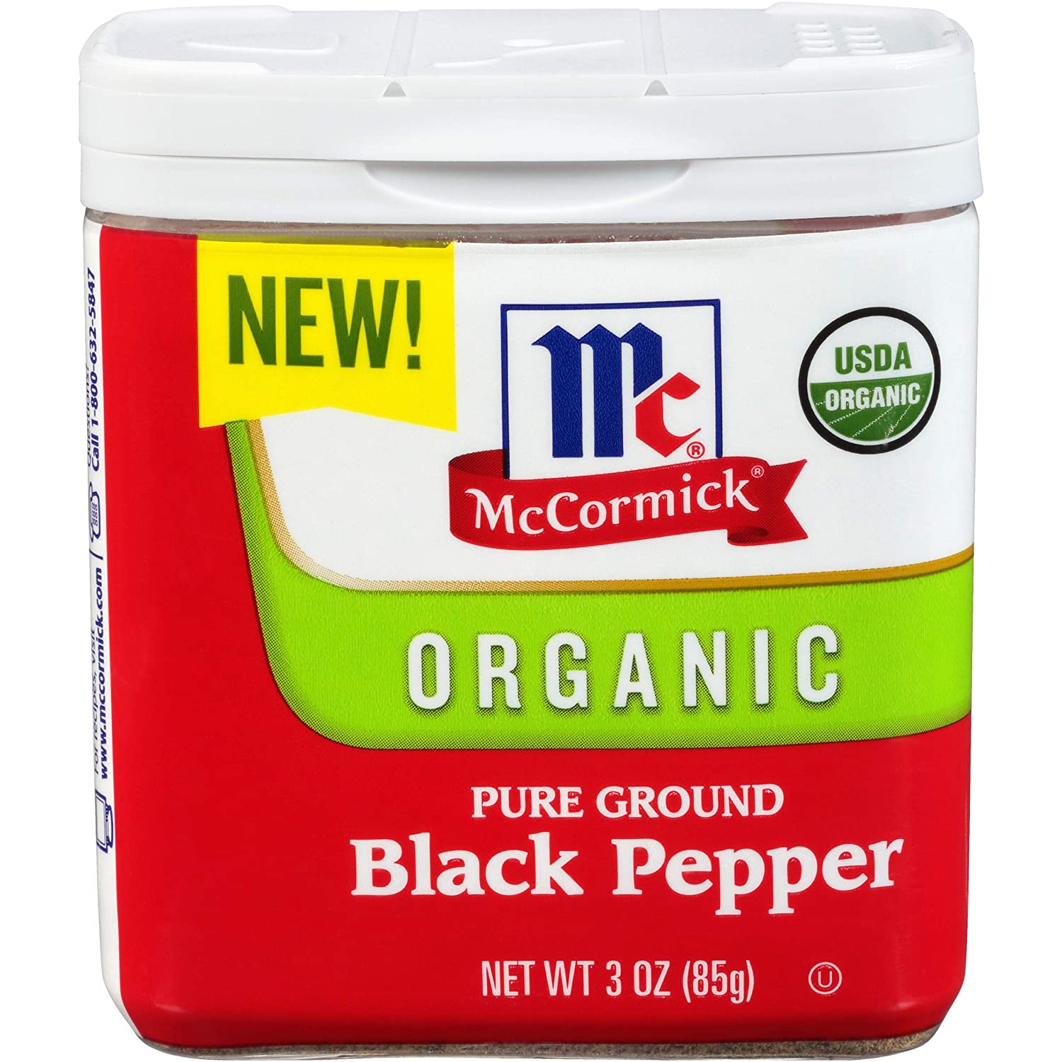 McCormick Ground Organic Black Pepper
