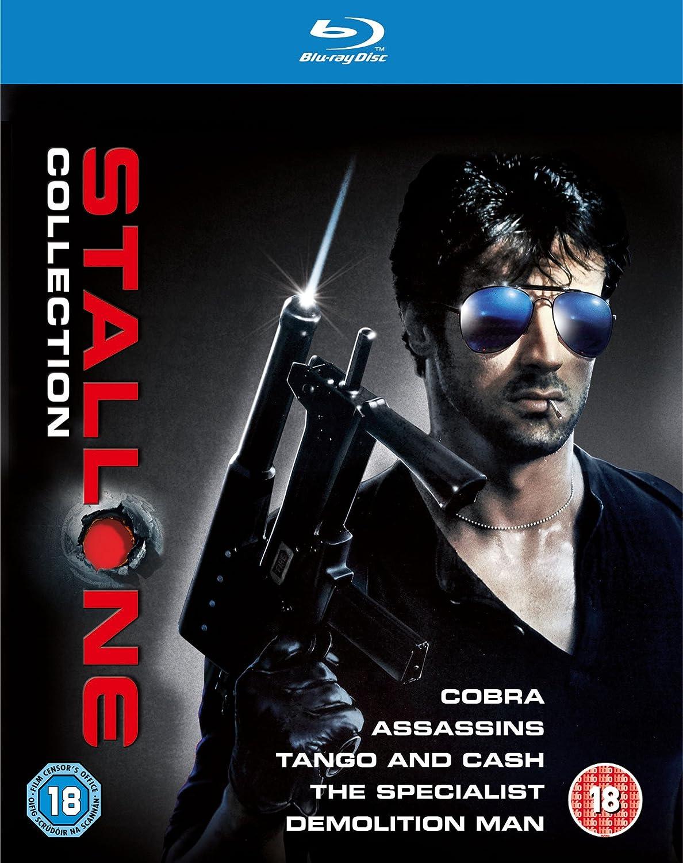 The Stallone Collection 5 Blu-Ray Edizione: Regno Unito Reino Unido Blu-ray: Amazon.es: Stallone, Sylvester: Cine y Series TV