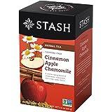 Stash Cinnamon Apple Chamomile Herbal Tea, 20 Tea Bags (Pack of 6), 20 Count