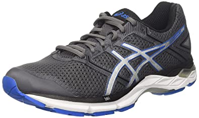ASICS Men's Gel-Phoenix 8 Carbon/Directoire Blue/Silver Running Shoes - 10