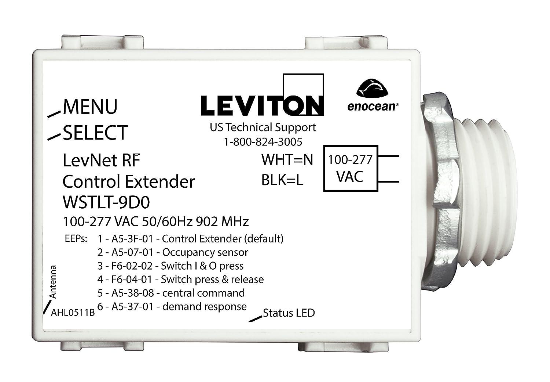 Amazon.com: Leviton WSTLT-9D0 LevNet RF 902 MHz Control Transmitter ...